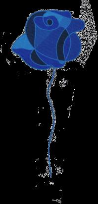 Poterie de la rose bleue